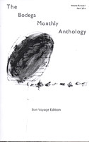 Anthology 3, NY, Book, Brooklyn Artist & Writers, Cover page: M.Pavlovska