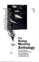 Anthology 2, NY, Book, Brooklyn Artist & Writers, Cover page: M.Pavlovska